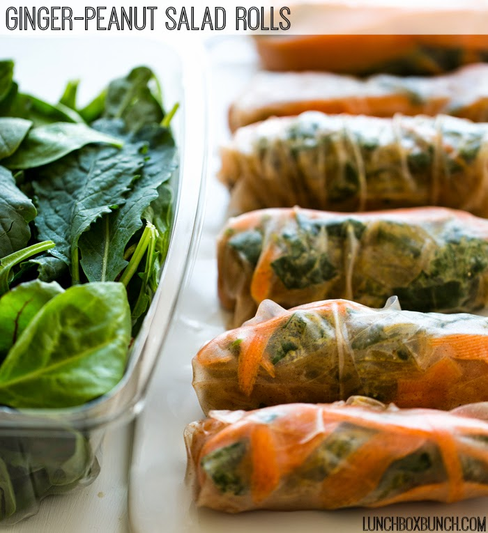 vegan snacks for kids salad rolls